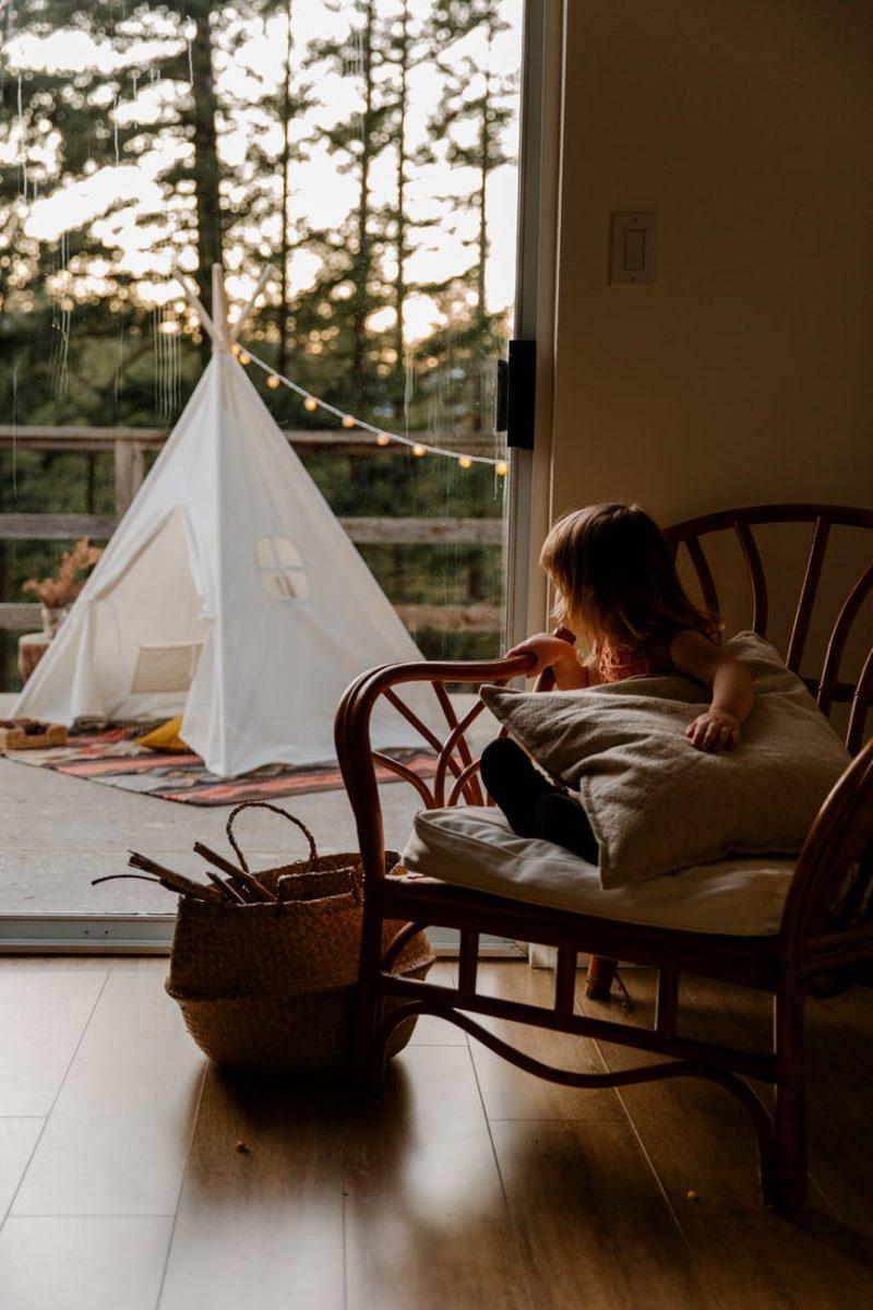 Számtalan gyereknek okozott már örömöt egy ilyen indián sátor